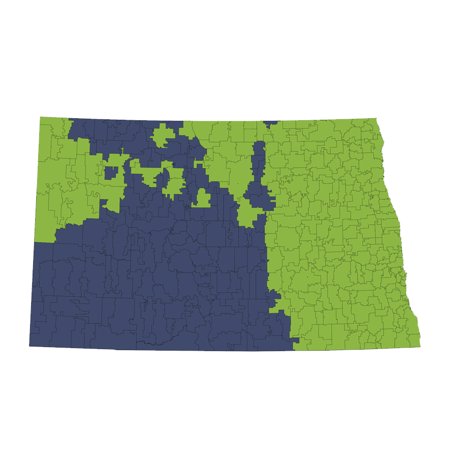 Location Services Repo/Vehicle Recovery Coverage Area by Zip Code: North Dakota