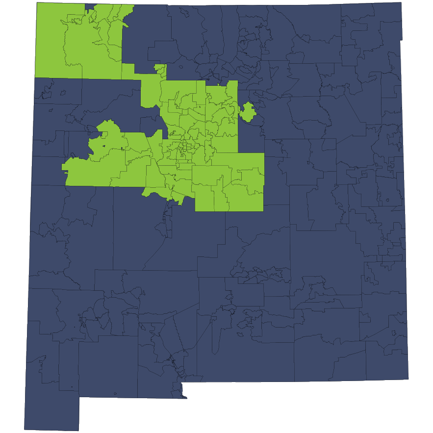 Location Services Repo/Vehicle Recovery Coverage Area by Zip Code: New Mexico