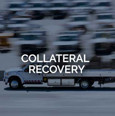 Location Services Collateral Recovery Tow Truck